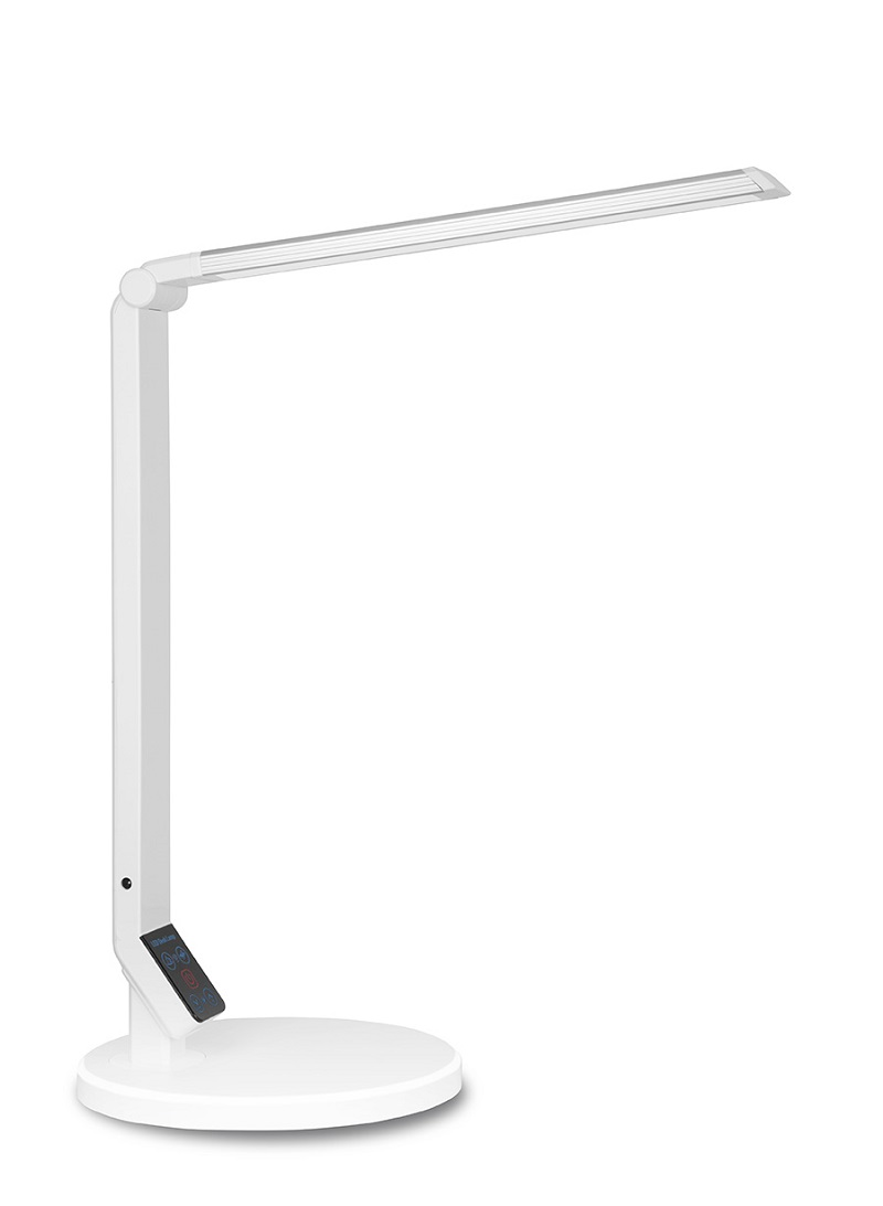 LED stolní lampa s USB Mayer 32LED-03 WH